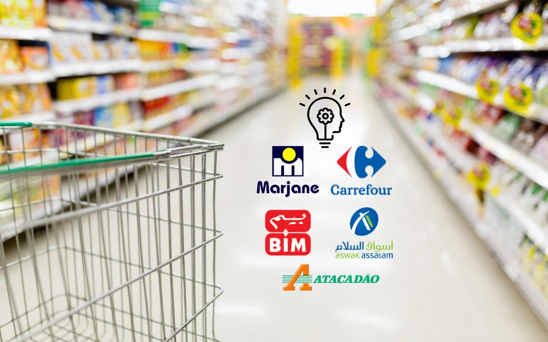 top notoriété grande distribution supermarché